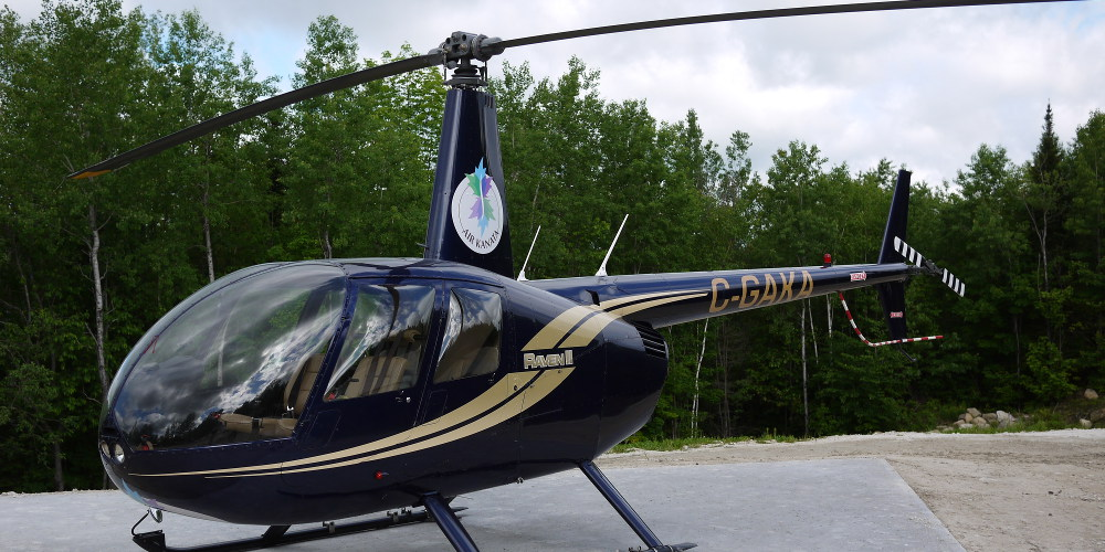 Héliport Laurentides - Helico AirKanata 2013